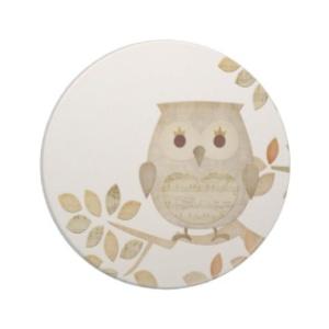 Tree Owl Coasters